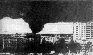 Taken as the tornado entered Ivanovo. Credit: Vasiliev (1985)