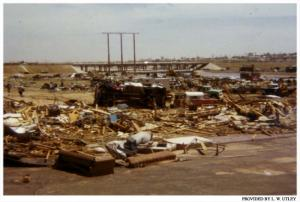 The Western Ways Motel was obliterated by the tornado. Credit: Lubbock Avalanche-Journal